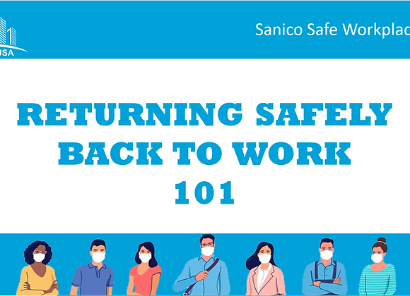 Back To Work Safety Guide With Your Branding