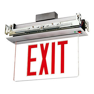 Flush Mount NYC Approved Exit Sign Supplier