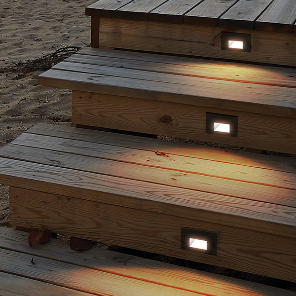 Step Lighting outdoor decks and patios