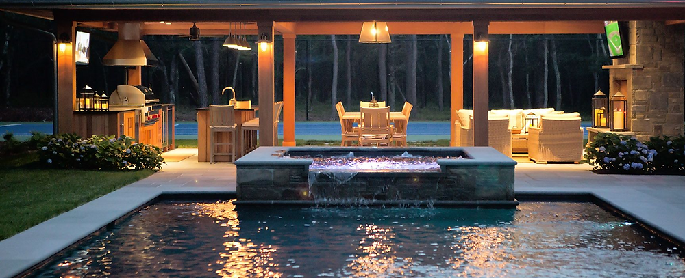 Keep summer time fun safer with outdoor lighting