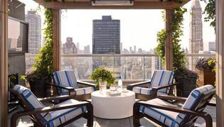 Manhattan Outdoor TV Installation