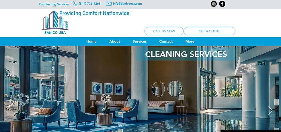 Disinfecting Service NYC Website and SEO Firm