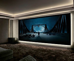 Home Theater Projection Screen  in Monmo