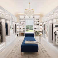 Walk In Closet Ideas With Sonos Speakers and Lutron Lighting