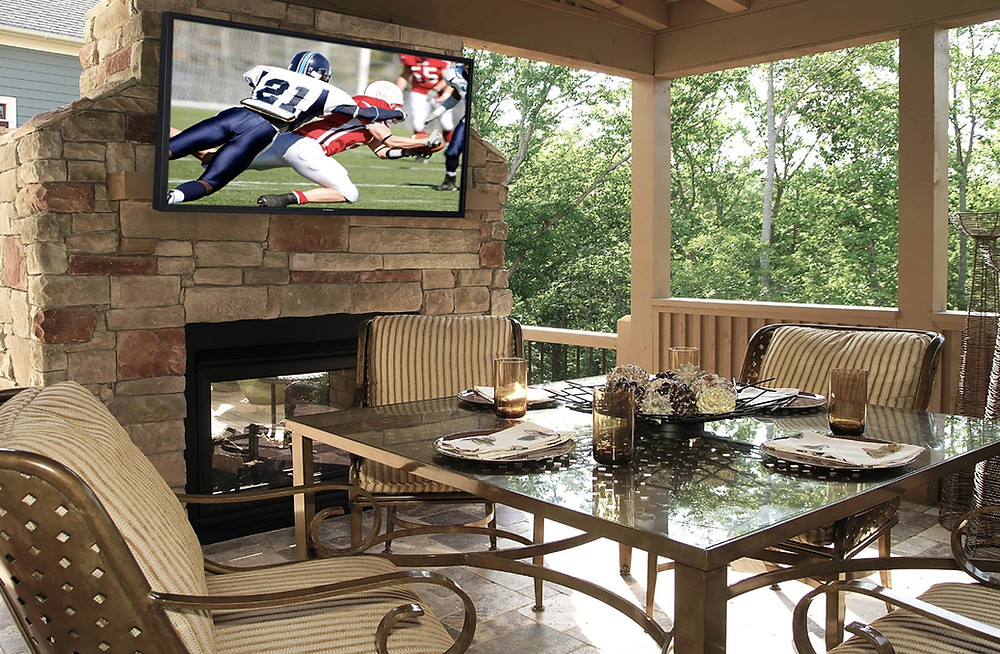 Outdoor TV Installation new jersey Pool Patio
