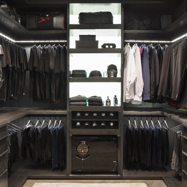 Walk In Closet Ideas With Crestron Home NJ