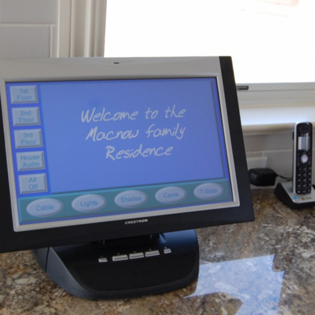 Seagirt NJ Bedroom Ideas With Crestron Home Automation