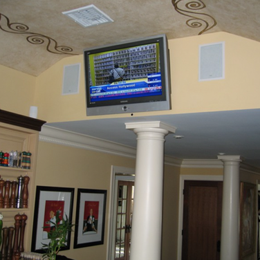 Red Bank NJ Basement TV Installation Idea