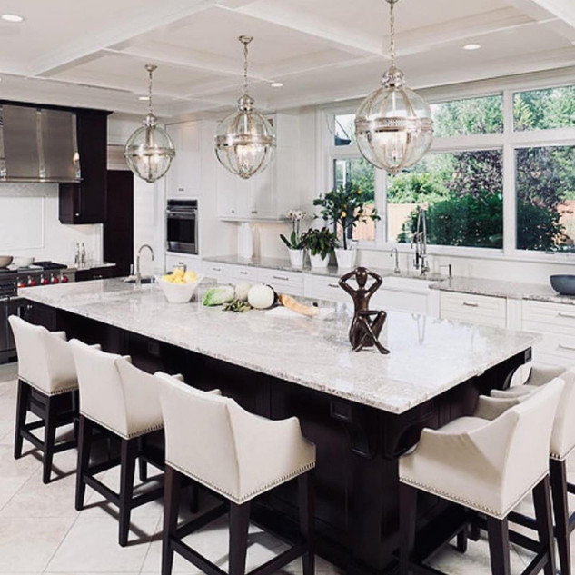 New Jersey Kitchen Ideas With Invisible Speaker And Lutron Lighting