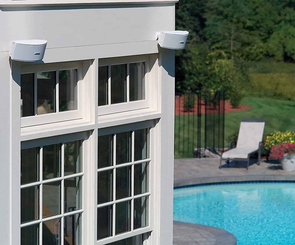 Best Bose Outdoor speakers that attach to the back of the house