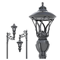 Featured Street Lights and Parking Lot Lights