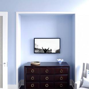 Rumson NJ Bedroom TV Installations and Lutron Lighting