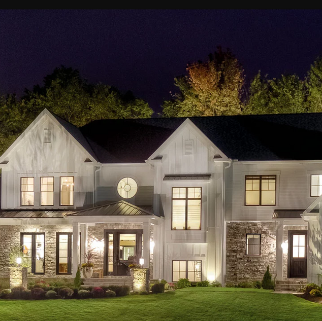 Outdoor Lutron Landscape Lighting Design