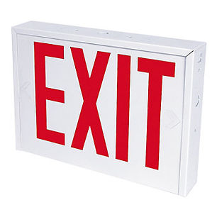 Heavy Duty NYC Approved Exit Sign In Stock
