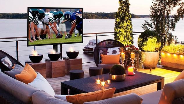 Outdoor TV Installation Ideas NJSea Bright