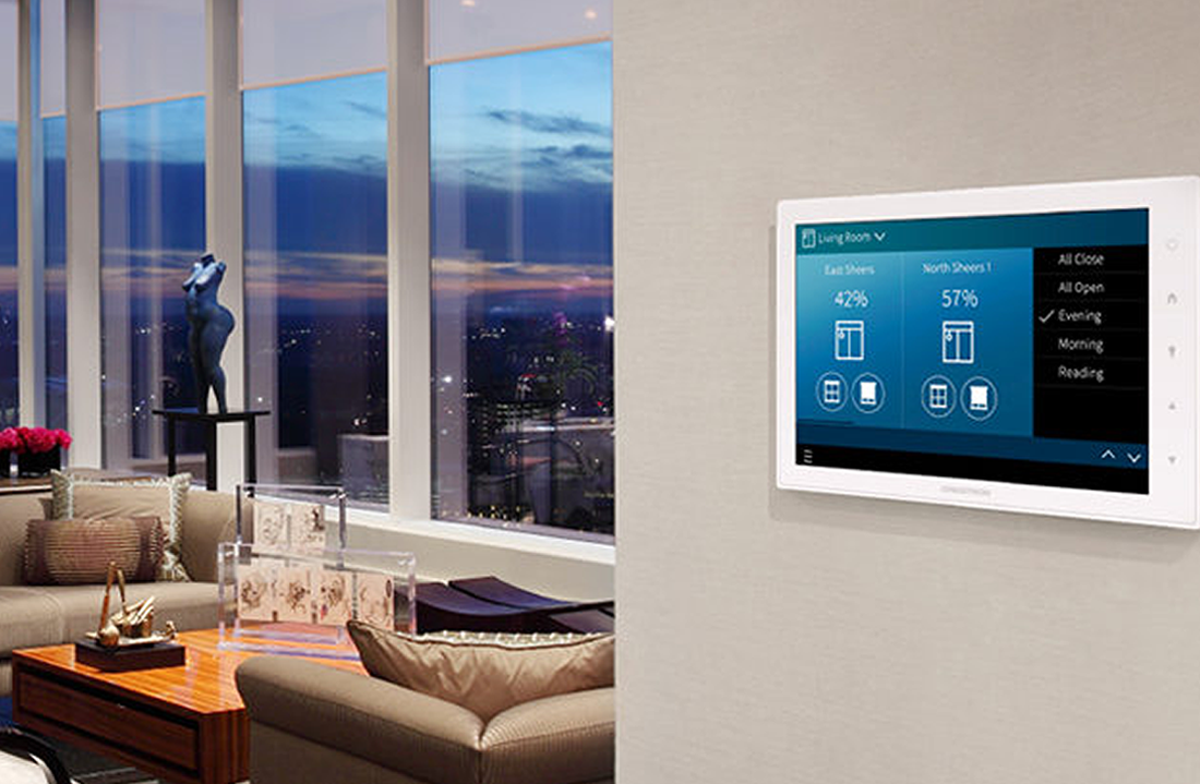 Crestron In Wall Touchscreen for Home Automation NJ