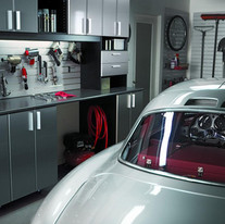 Smart Garage Ideas With Crestron Home Automation And Sonos Speakers