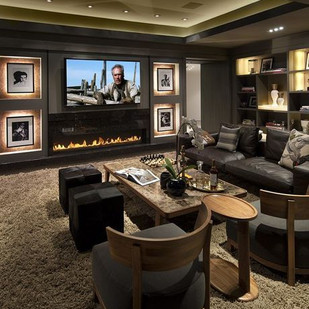 Home Theater IDeas From Family Room