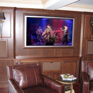 New Jersey TV Installation Bar Room Basement Ideas