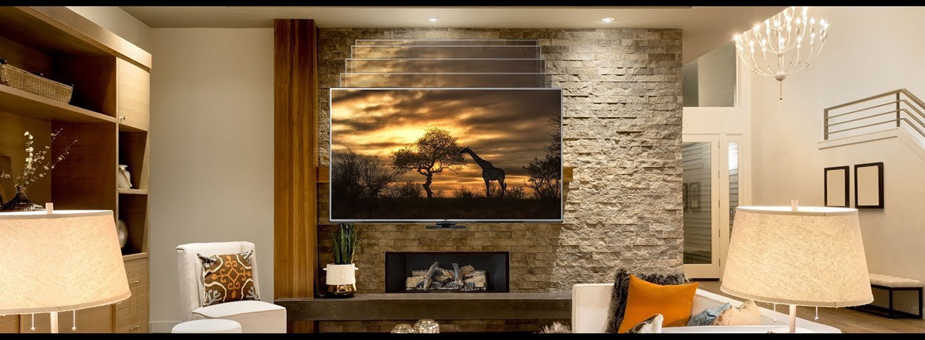 Fireplace TV Installation New Jersey