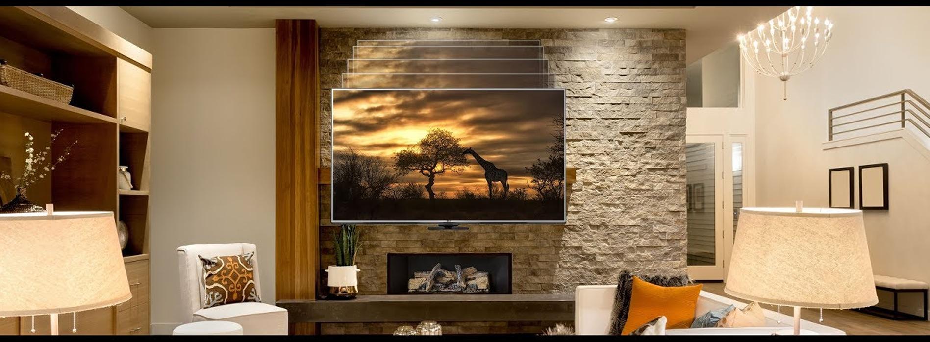 Fireplace TV Installation-Nassau-County.