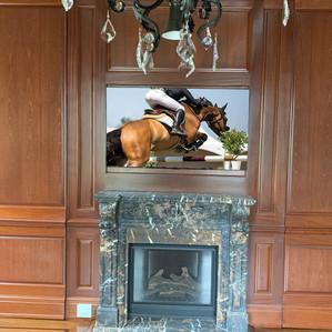 Fireplace TV Installation Long Island.jp