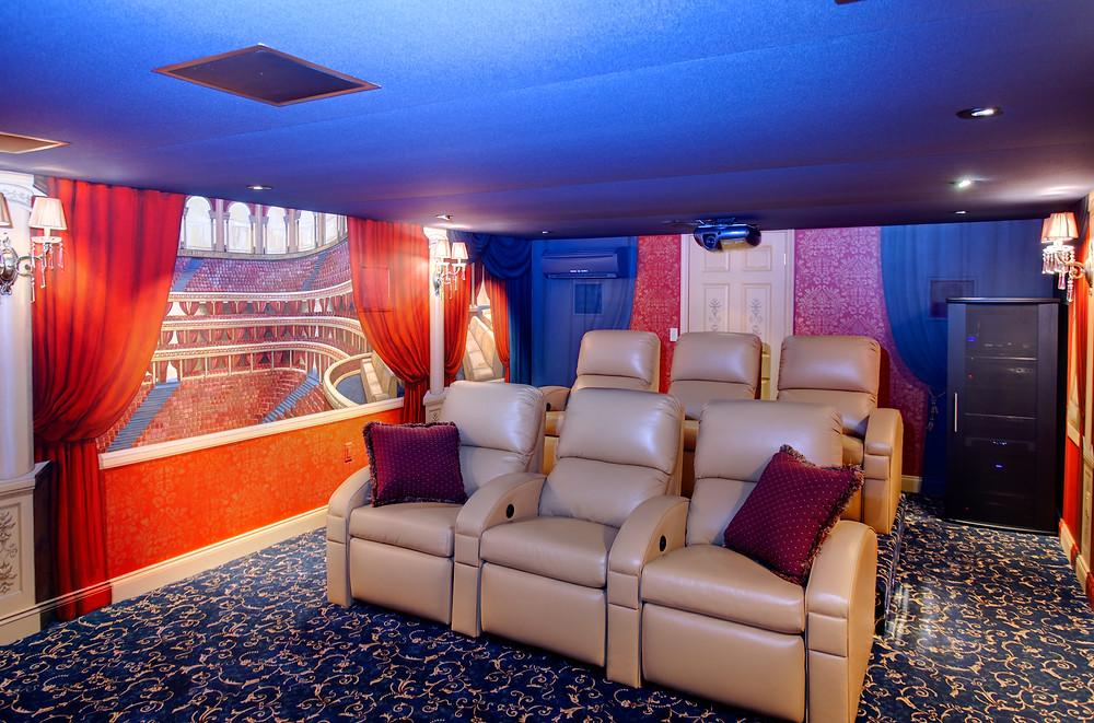 New Jersey Home Theater HVAC Design Company