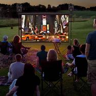 Outdoor Theater InstallationNJ.