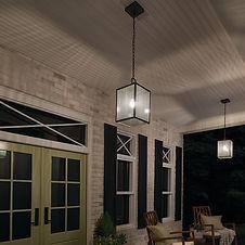 Bergen County NJ Outdoor Hanging Lights