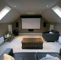 Attic Room Ideas For Home Theater Room NJ