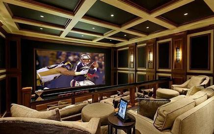 Luxury NJ Home Theater De