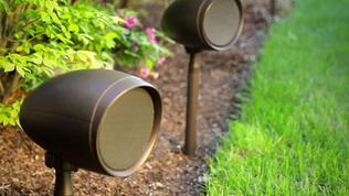 Outdoor  speaker System Installation Dea