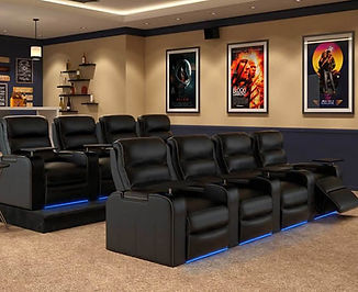 Home Theater Seating in Austin TX.
