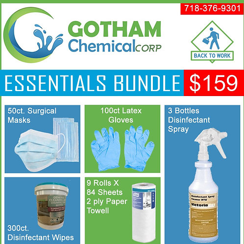 Essentials Bundle Back To Work Cleaning Package