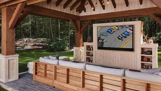 Outdoor TV Installation Ideas NJ Asbury