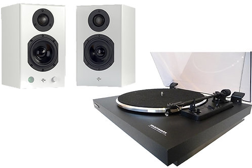 Speaker and Turntable Package from Marantz and Totem