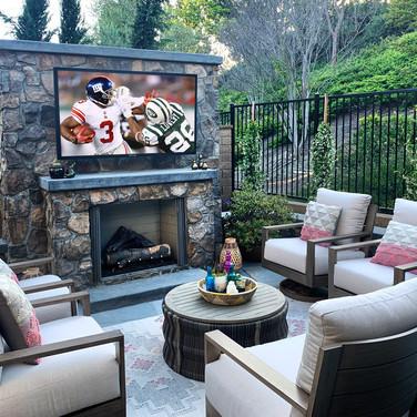 Outdoor TV Installation Belle Meade