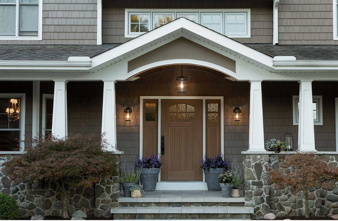 Front Door Lighting Installation Holmdel NJ