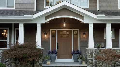 Front Door Lighting Installation Holmdel NJ