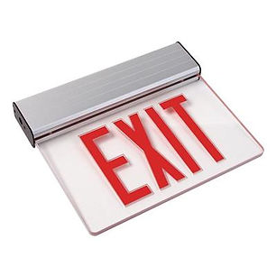 Top or Side Mount LED NYC Approved Exit Sign