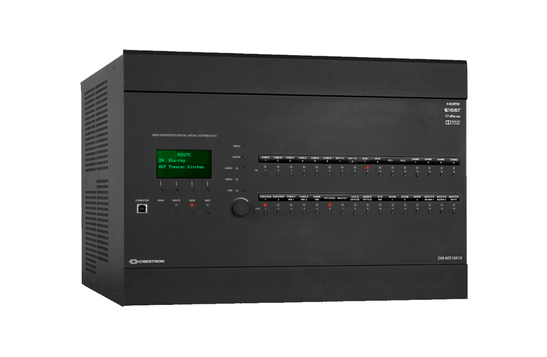 NJ Crestron Audio Video Switcher Dealer