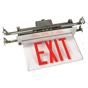 Flush Recessed NYC Approved Exit Sign Distributor