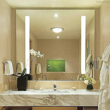 Deal NJ Bathroom Ideas For Mirror TV Installation