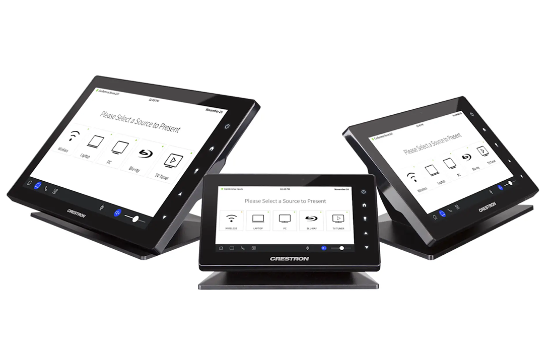 NJ Crestron Home Touchscreen