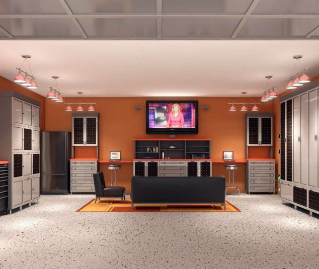 Smart Home Crestron Lighting And Security Cameras For Garage Ideas