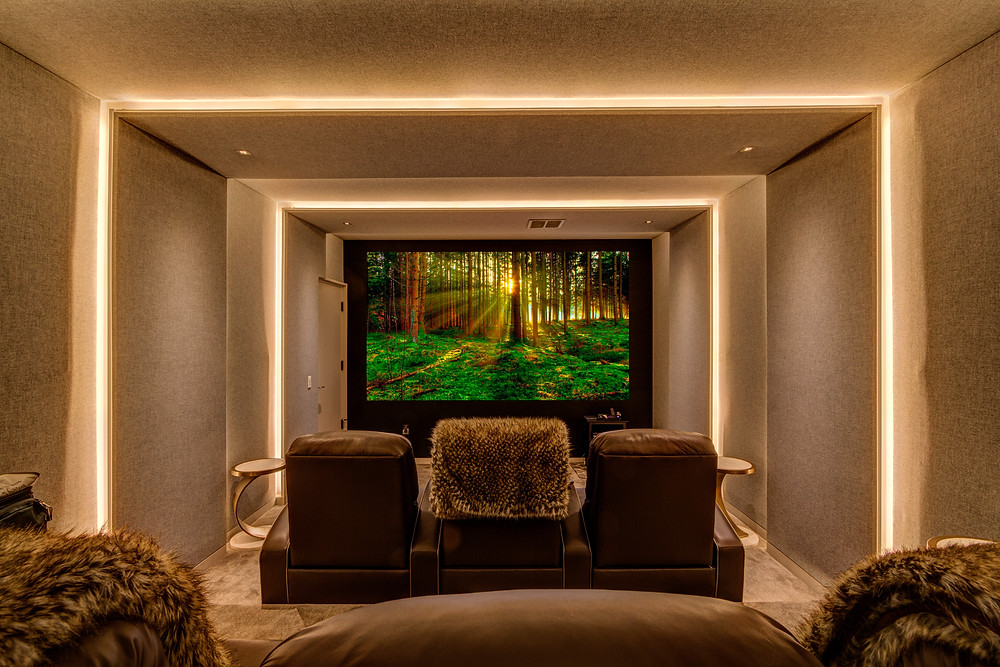 New Jersey HVAC System For Home Theater