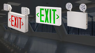 NYC Approved Emergency and Exit Light Fixtures
