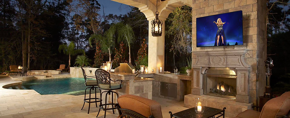 Outdoor TV Install Company In Austin TX.