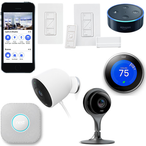 Do it your self smart home kit you can do in one day with nest diy one day smart home without installation solutioingenieria Gallery