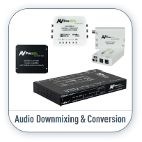 Audio Downmixing Products Supplier Ny NJ